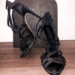 BCBGMaxazria Black High Heels